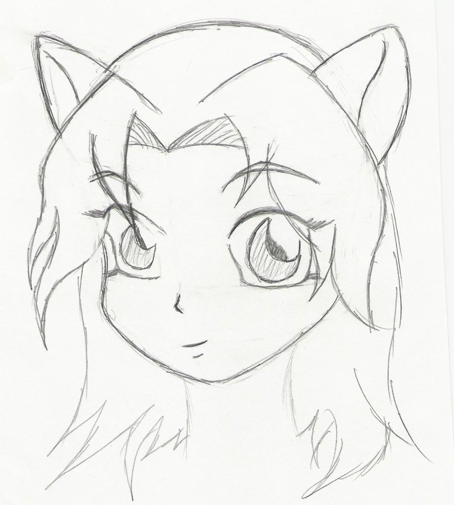 921x1024 Cute Anime Drawings Easy Easy Anime Drawings