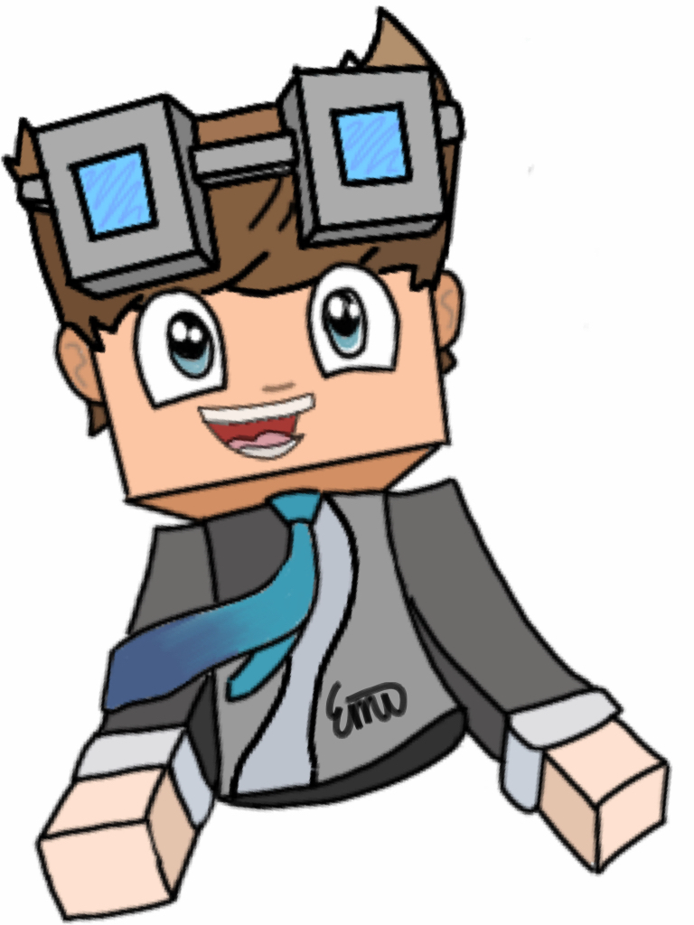 Dantdm Drawing Minecraft At Getdrawingscom Free For Personal Use