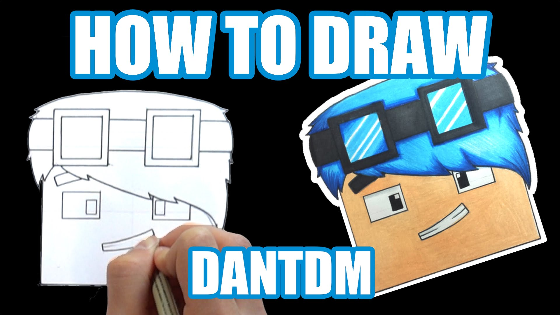 Dantdm Drawing Minecraft At Getdrawings Com Free For Personal Use