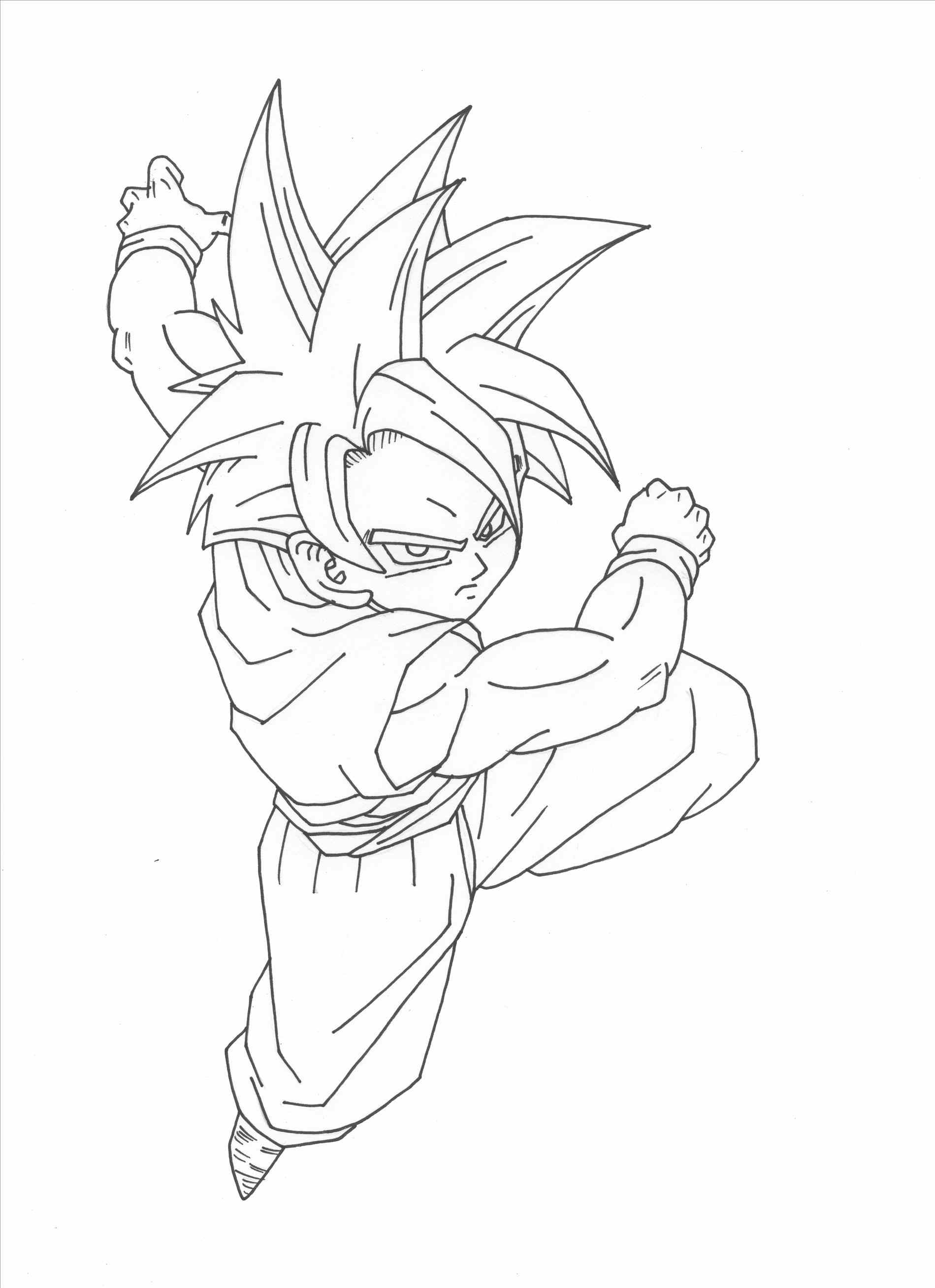 1899x2615 How To Draw Dragon Ball Z Gohan On Son In Aguo Son