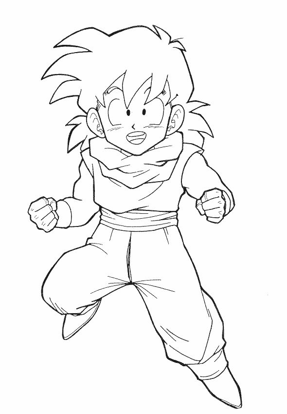 Dbz Drawing Gohan at GetDrawings.com | Free for personal use Dbz ...
