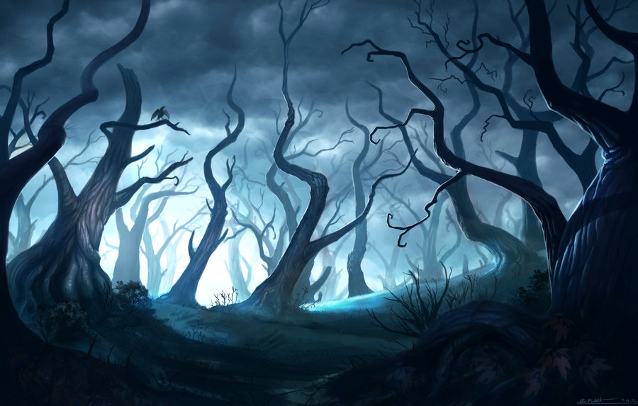 900x573 Dead Forest Concept By Bmd247