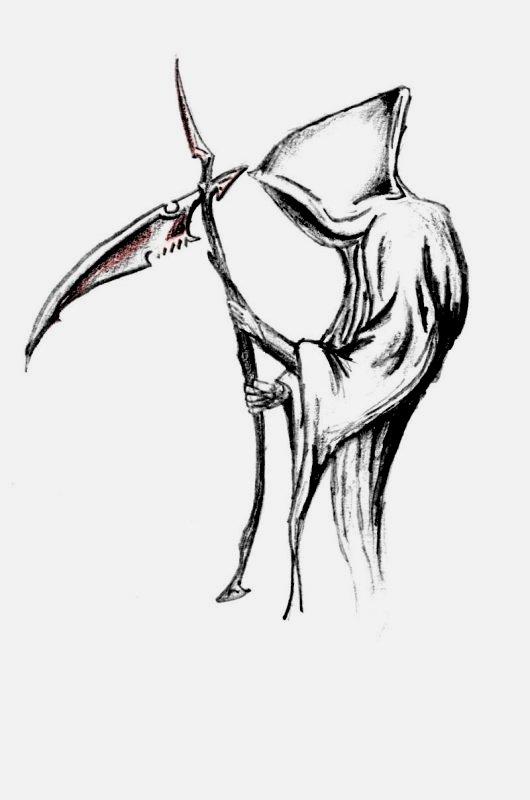 Death Angel Drawing