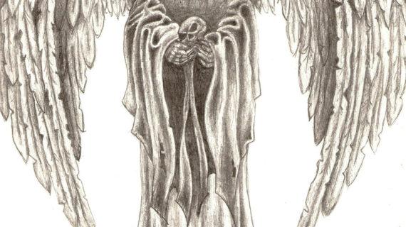 570x320 Angel Of Death Drawing Death Drawings Drawings Death Angels