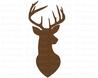 340x270 Deer Head Etsy