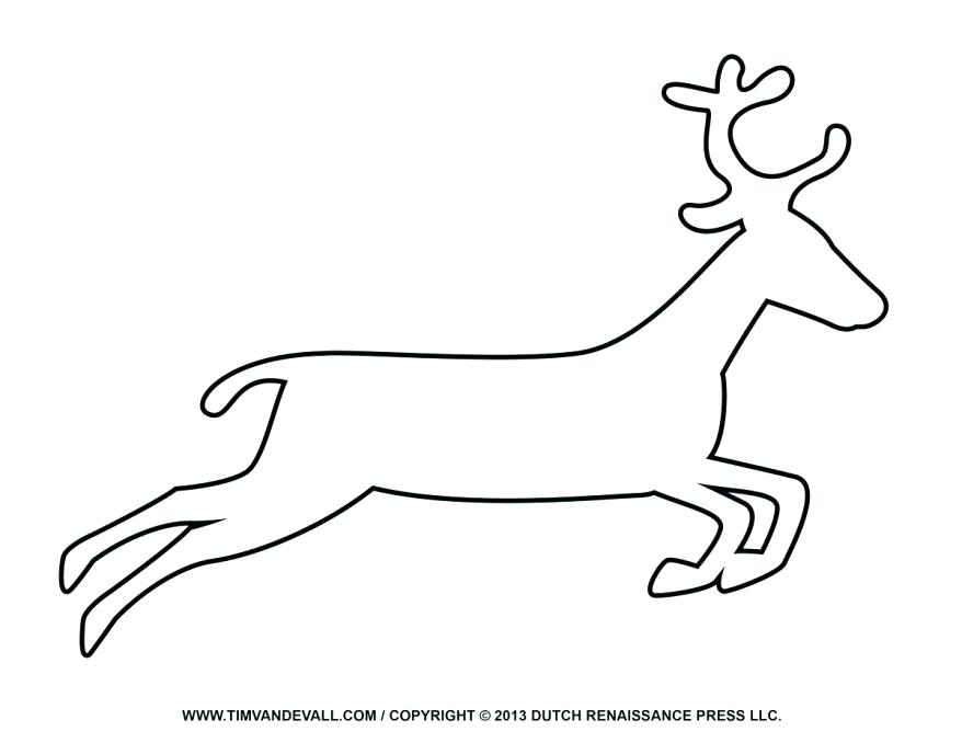 878x678 Coloring Book Couple Of Isolated Deer Head Outline Deer Outline