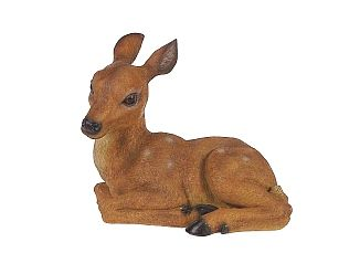 326x248 Curled Deer Statue And Figurine
