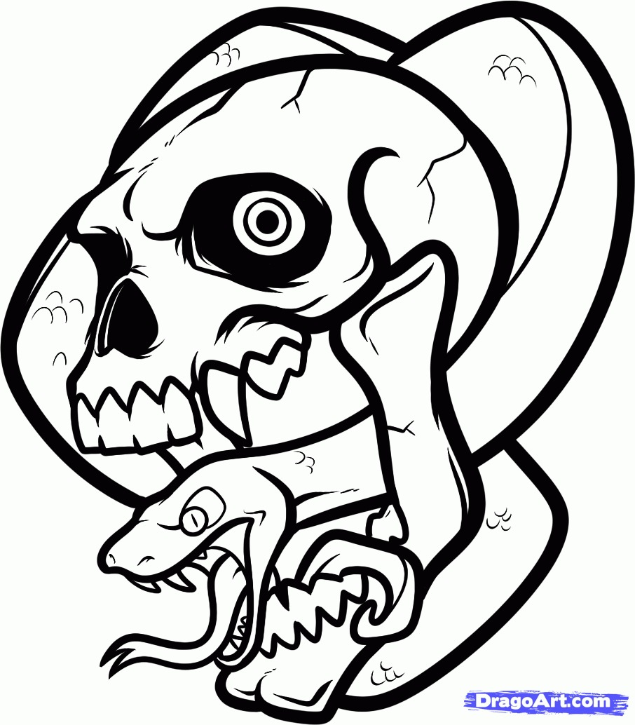 906x1034 Drawings Drawing Ideas Easy Skull Drawing Lovely Easy Draw Skull