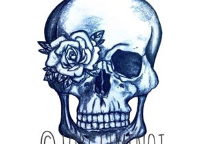 300x210 Drawings Drawing Ideas Easy Skull Drawing Lovely Easy Draw Skull