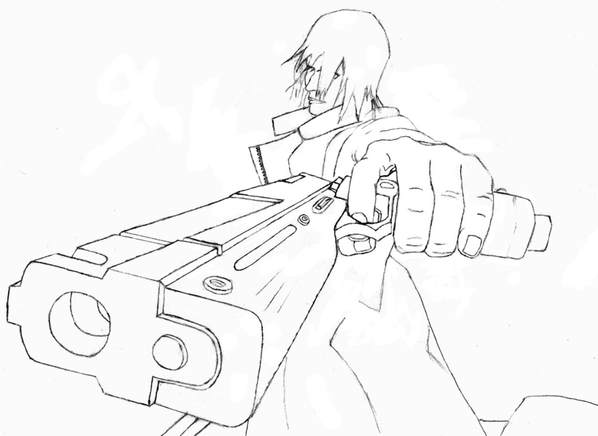 Demon Drawing Easy