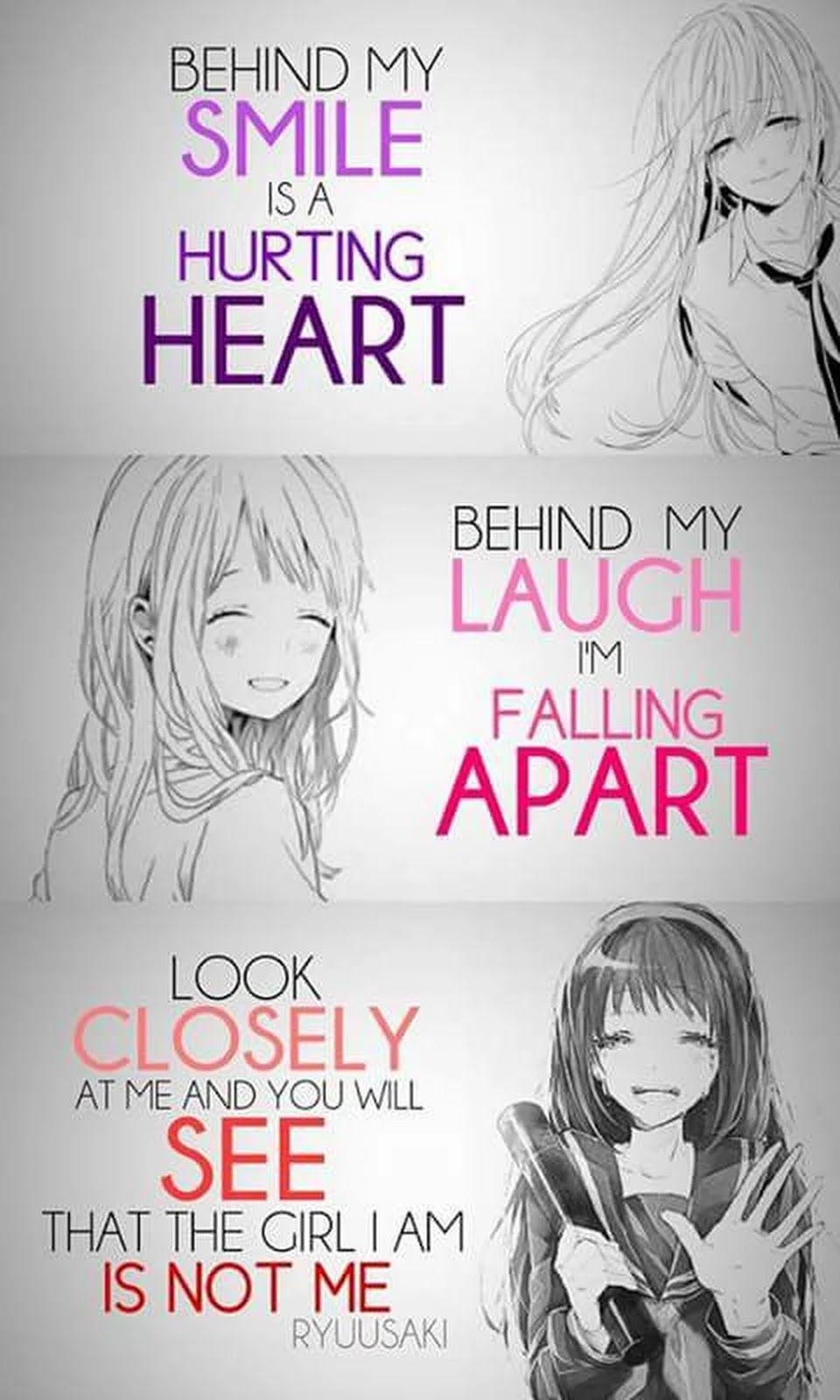Depressed Anime Girl Drawing at GetDrawings | Free download
