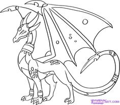 236x207 How To Draw A Ghost Dragon, Ghost Dragon, Step By Step, Dragons