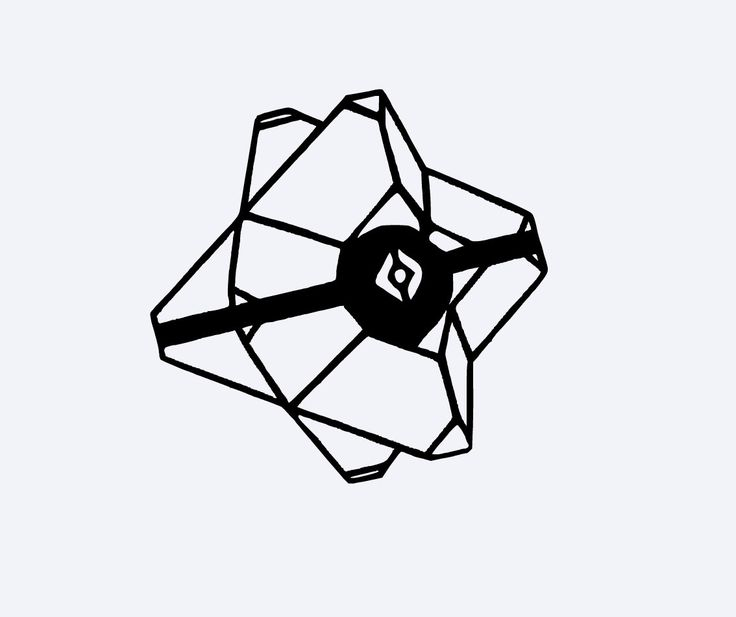 736x617 Collection Of Destiny Ghost Drawing Easy High Quality, Free