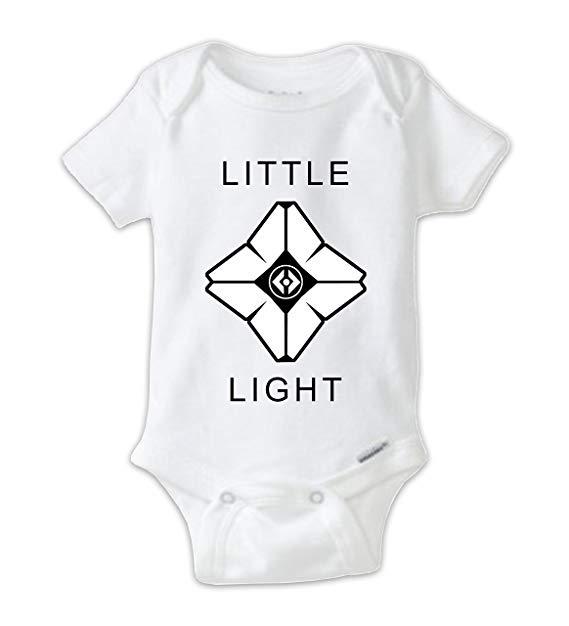 569x626 Juju Apparel Little Light Destiny Ghost Baby Bodysuit