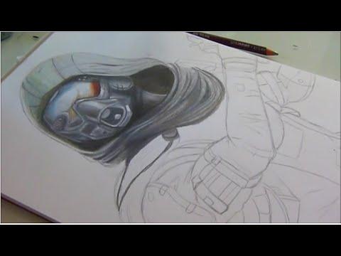 480x360 Drawing Destiny Hunter