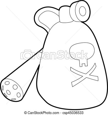 441x470 Insecticide Device Icon, Outline Style. Insecticide Device
