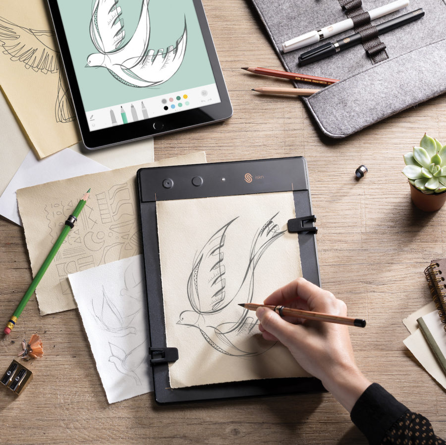 900x899 How To Digitize Your Drawings In Real Time, Using Actual Paper