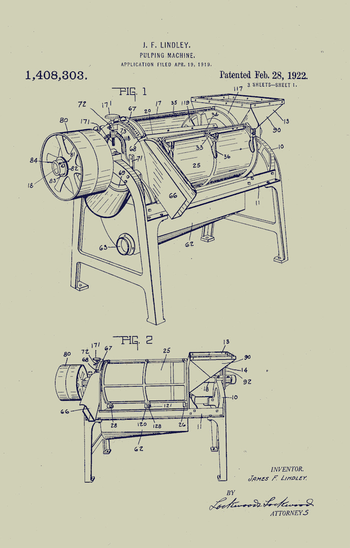 700x1097 The Art Of Ingenuity A Miscellany Of Patent Drawings By Indiana