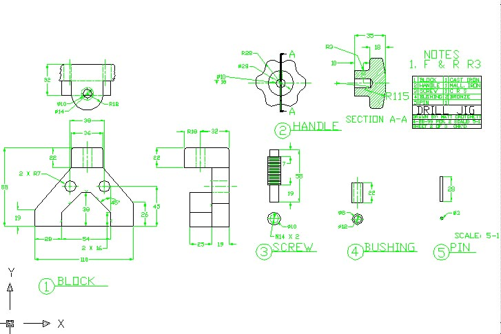 727x485 Autocad Drawings