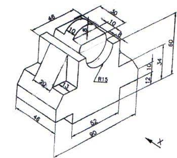 350x313 Engineering Drawing Question Paper May 2016