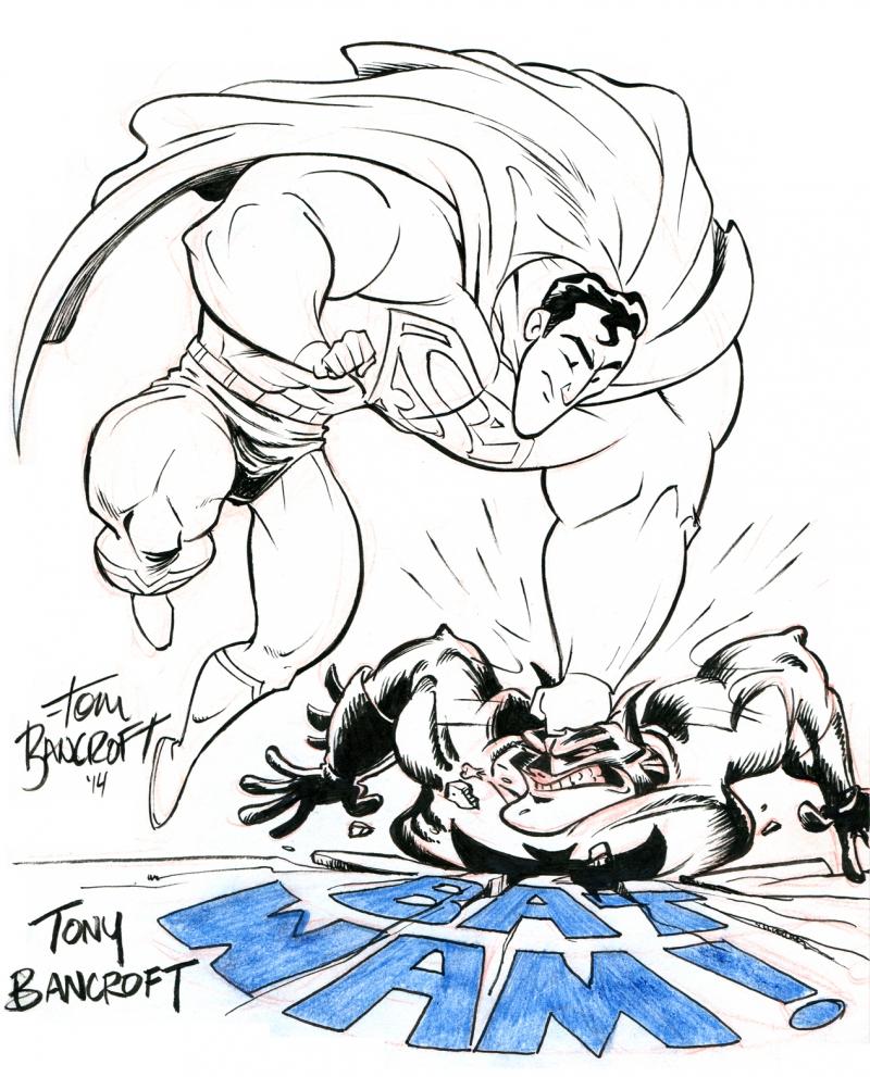800x991 Tom Bancroft And Tony Bancroft. Superman Vs Batman Tony Amp Tom