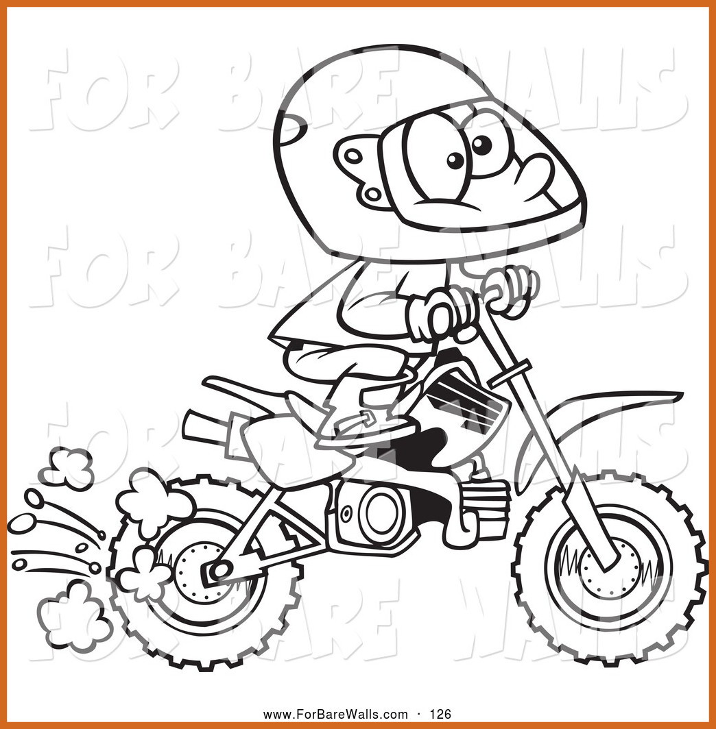 Dirt Bike Drawing Step By Step at GetDrawings.com | Free for ...