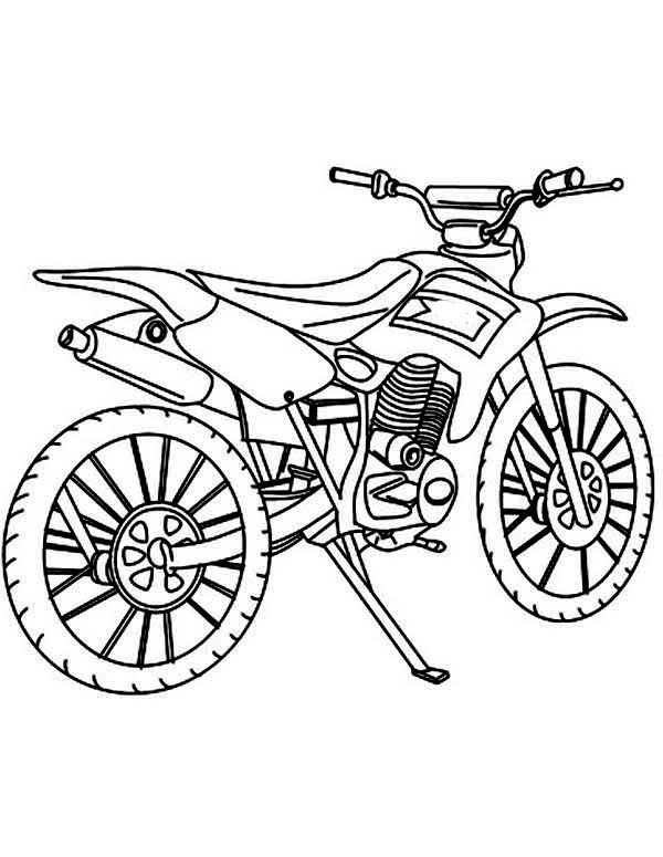 dirt bike drawing step by step at getdrawings com free for