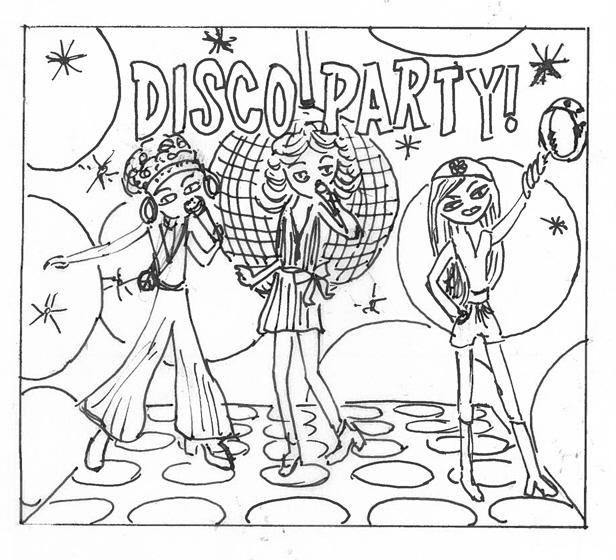 616x560 Superstarz Disco Party Jewel Case Cd By Anna Condotta