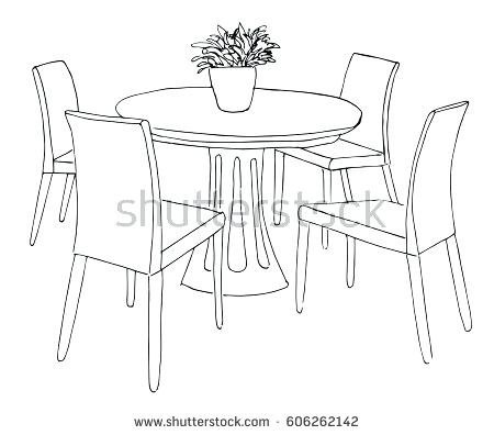 450x396 How Draw A Chair Packed With Drawing Of Chairs Appealing How