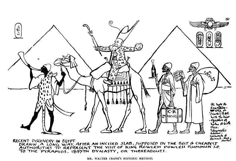 763x521 Recent Discovery In Egypt By Walter Crane