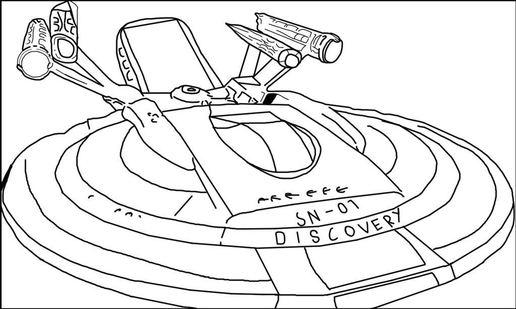 1024x614 Star Trek Uss Discovery By Wilburthelame