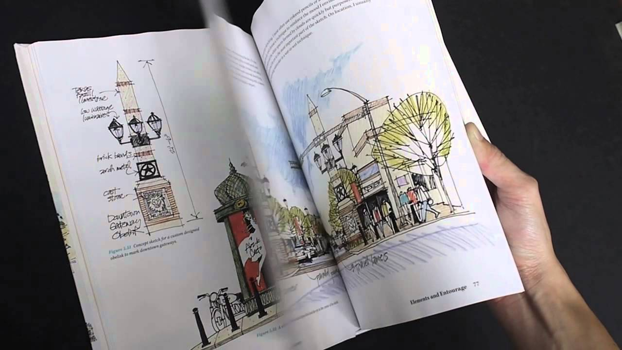 1280x720 Freehand Drawing And Discovery Urban Sketching And Concept