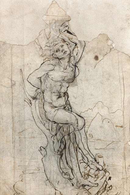 427x640 French Auction House Discovers Leonardo Drawing, Waits For Gov'T