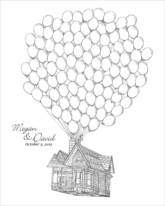 570x713 Collection Of Pixar Up House Drawing High Quality, Free