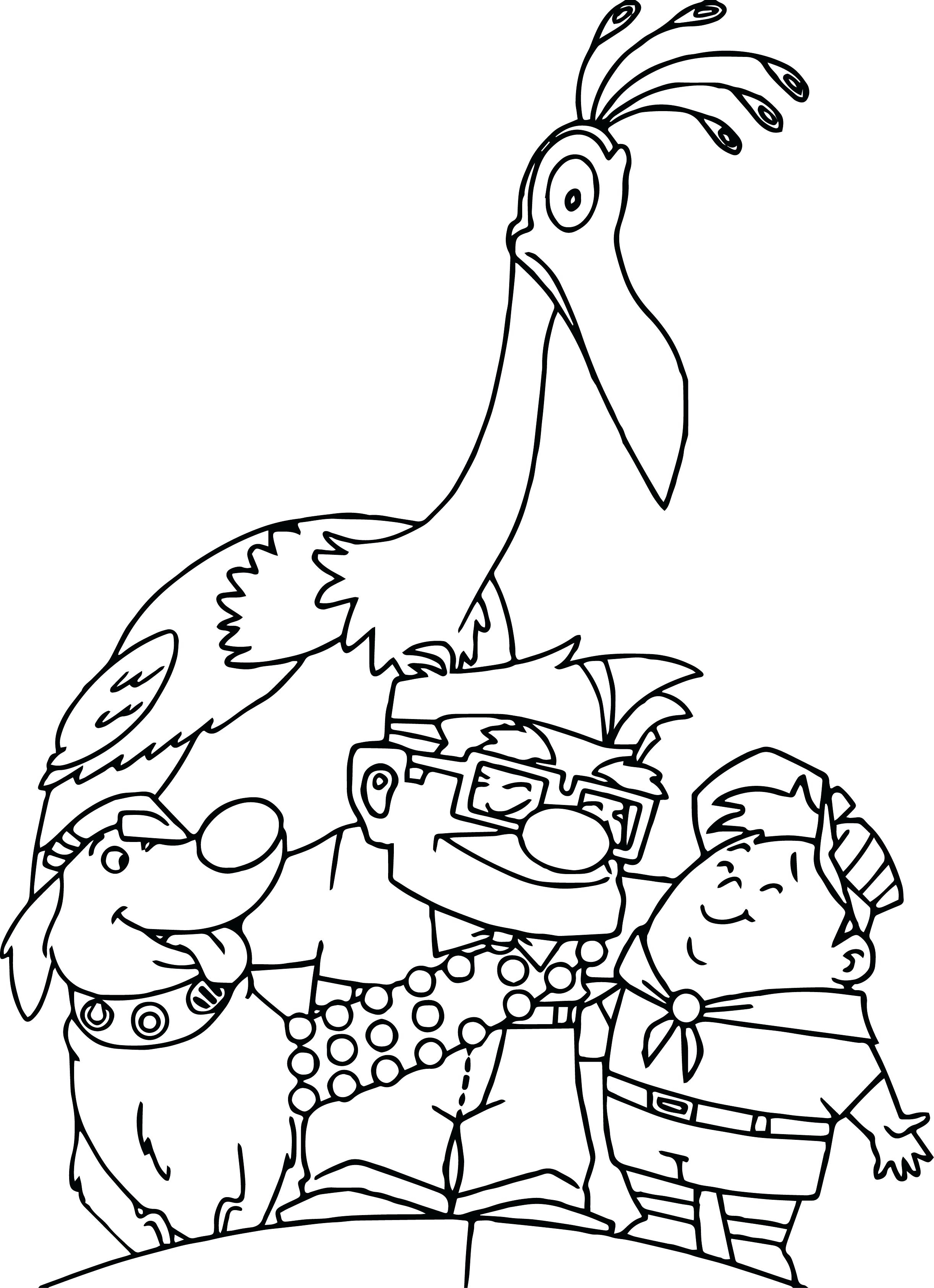 2445x3373 Disney Pixar Up Coloring Pages Carl And Ellie