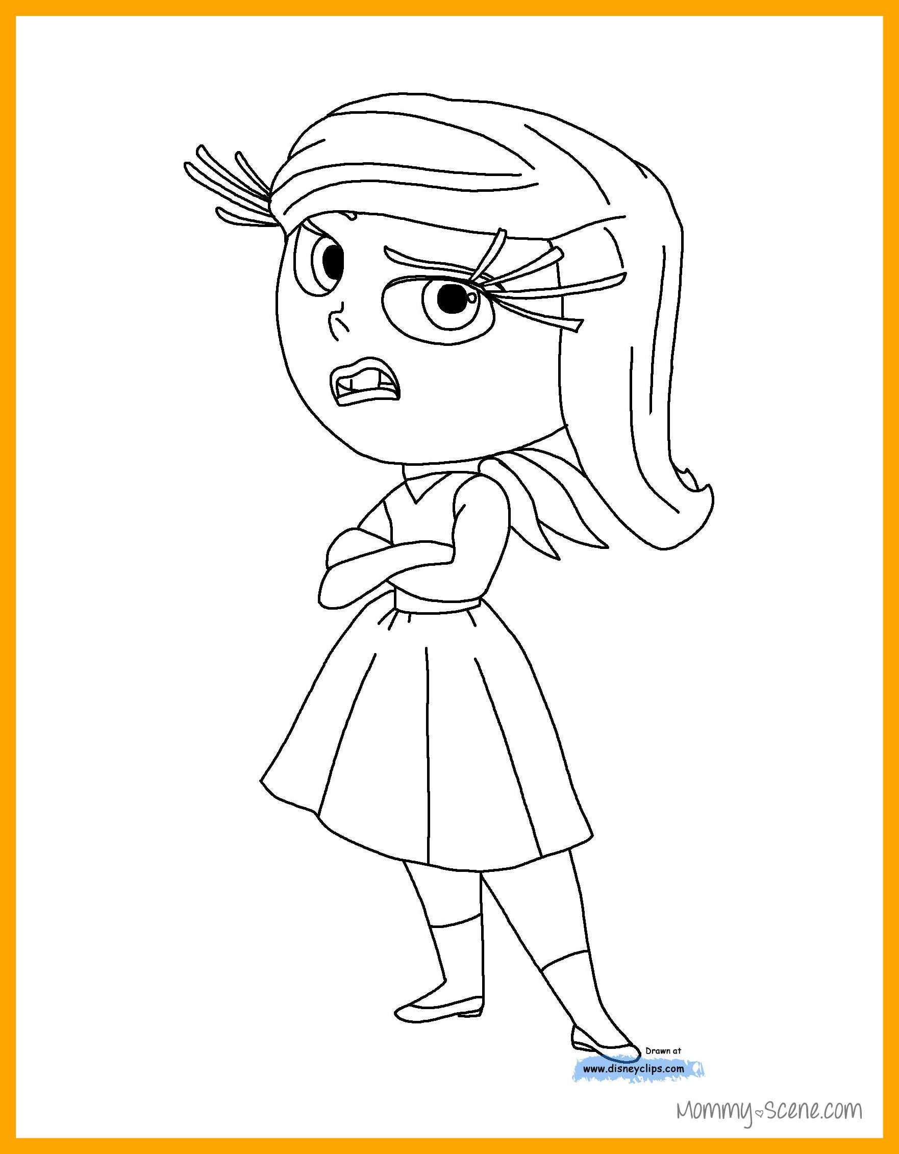 1762x2262 Appealing Disney U Inside Out Coloring Pages Mommy Scene Pict