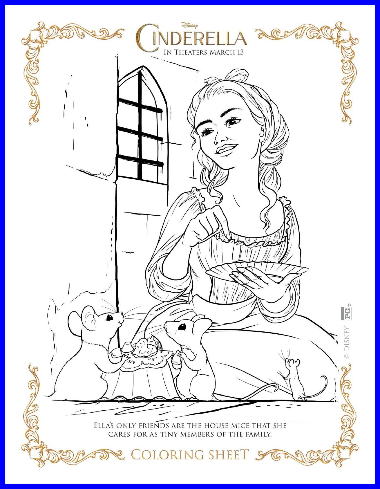 1310x1685 Appealing New Disney U Cinderella Coloring Pages And Activity