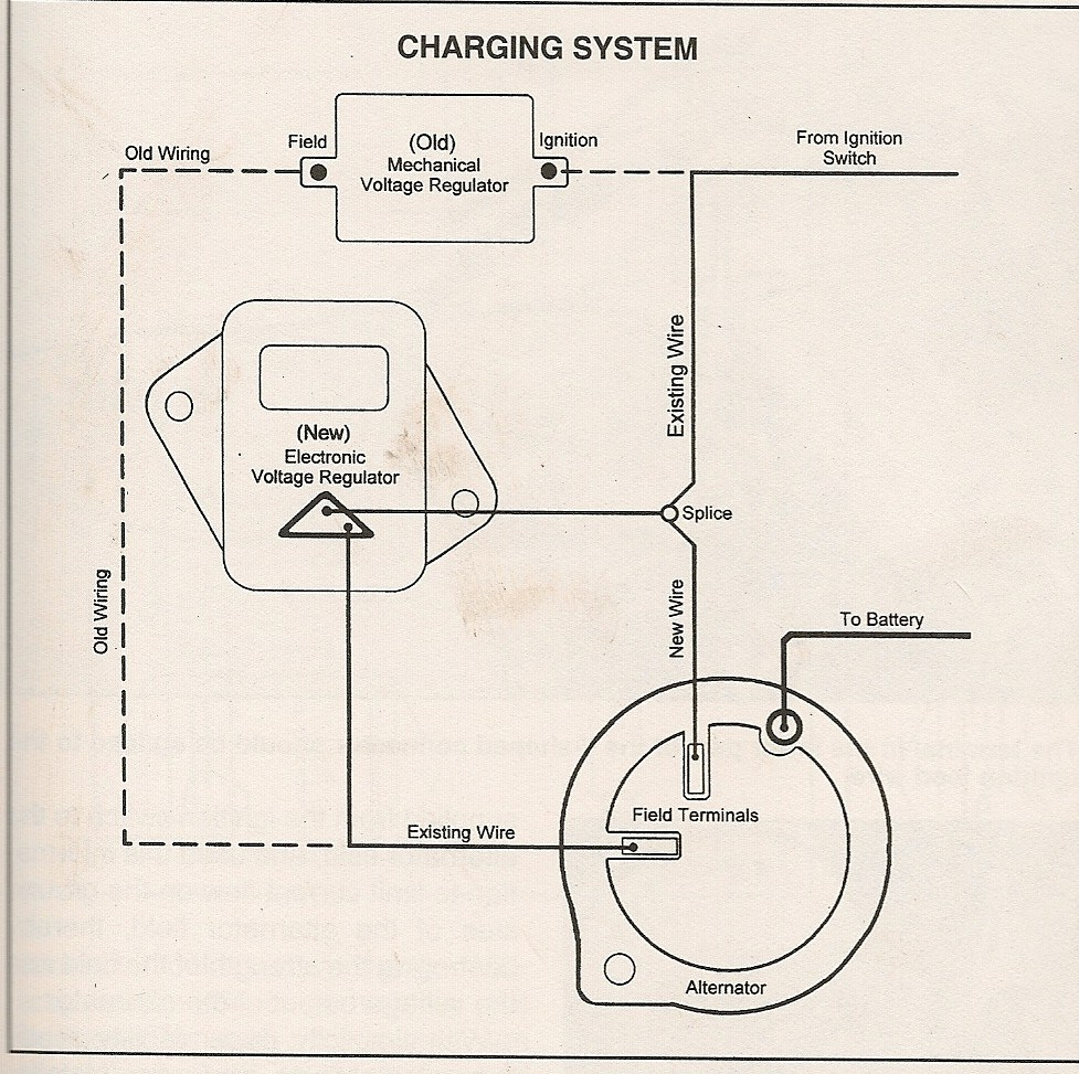 Distributor Drawing At Free For Personal Use Jeep Alternator Field Wiring 977x973 Mopar Diagram Hei Diagrams