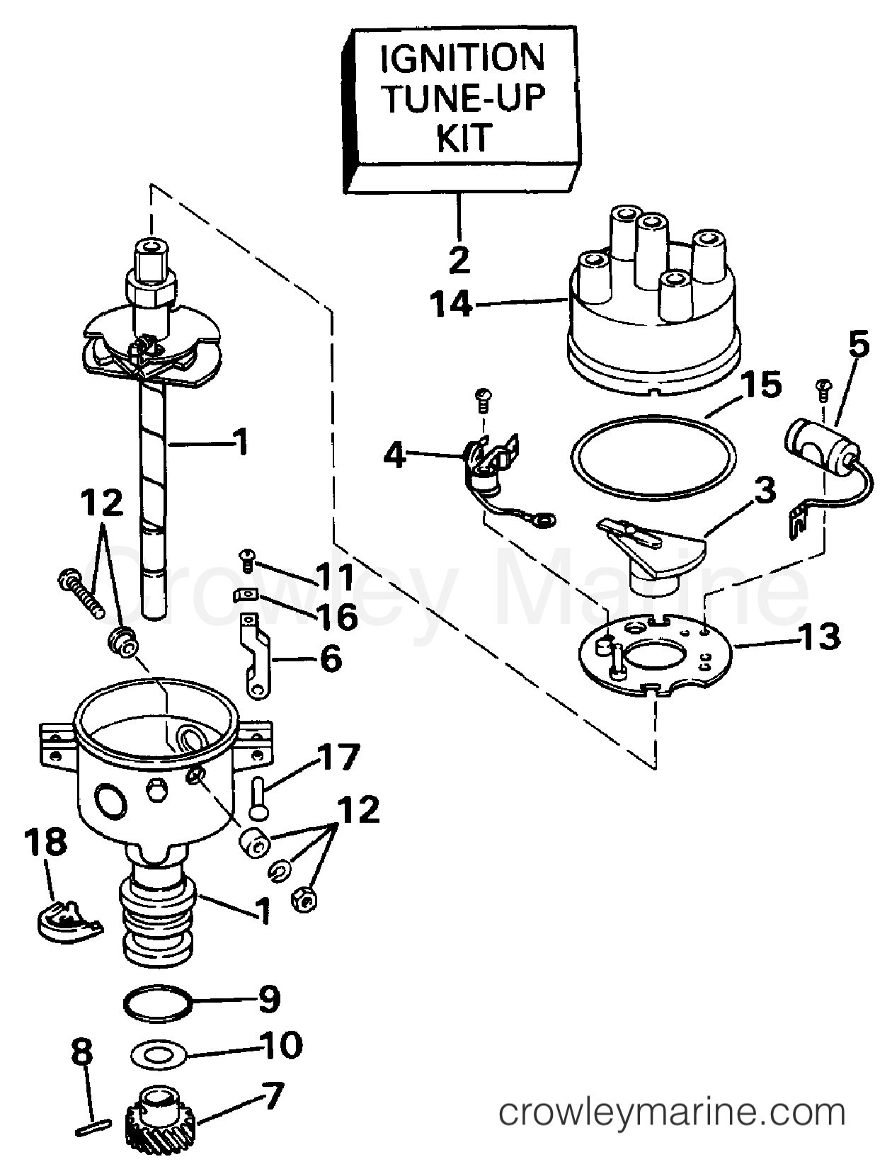 distributor drawing at getdrawings free for personal use Accel Ignition Troubleshooting 1260x1651 distributor