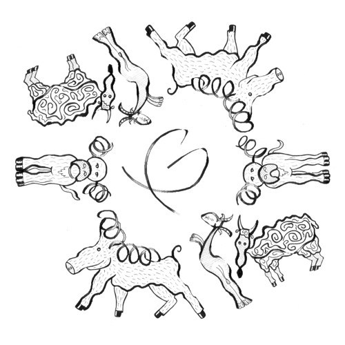 500x500 Dna Clamp Protein Art