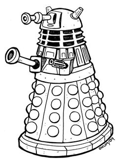 236x325 Doodle Craft Doctor Who Sonic Screwdrivers Silhouette That'S
