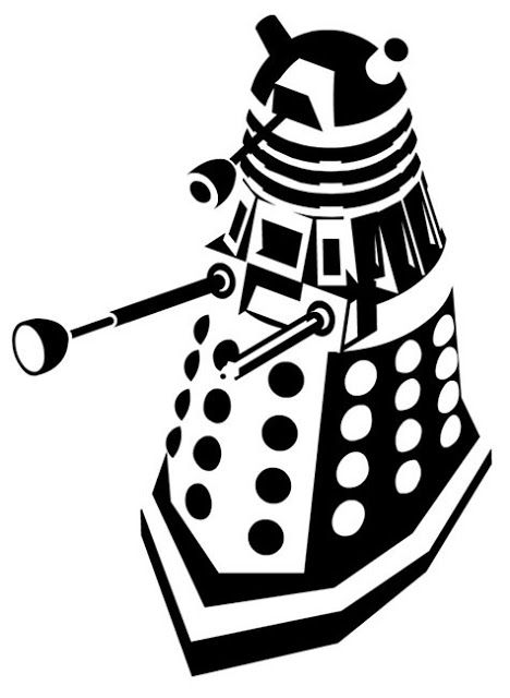 468x640 Doodle Craft Doctor Who Stencil Silhouette Outline Clipart