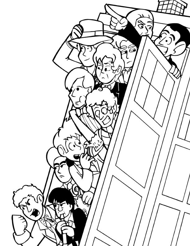 612x792 Kaia Will Love Doctor Who Coloring Pages Description