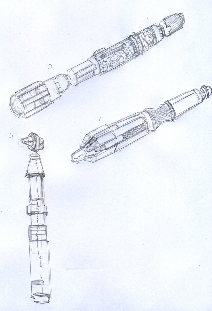 738x1081 Sonic Screwdriver By Dwthechurningwaters
