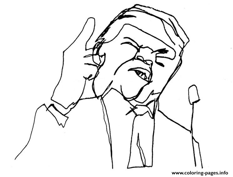 745x565 Crammed Donald Trump Coloring Pages Best For K