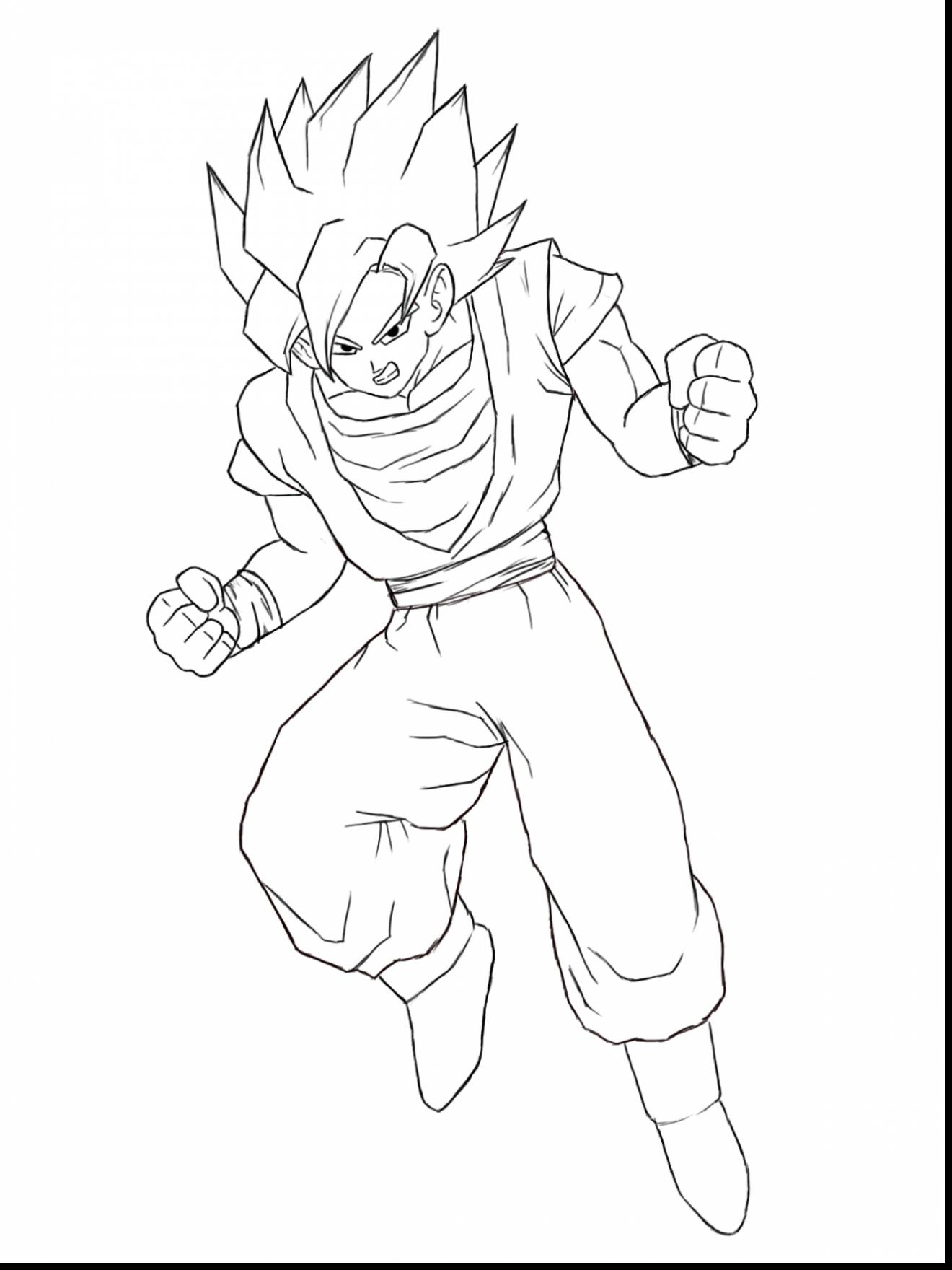 Dragon Ball Z Easy Drawing