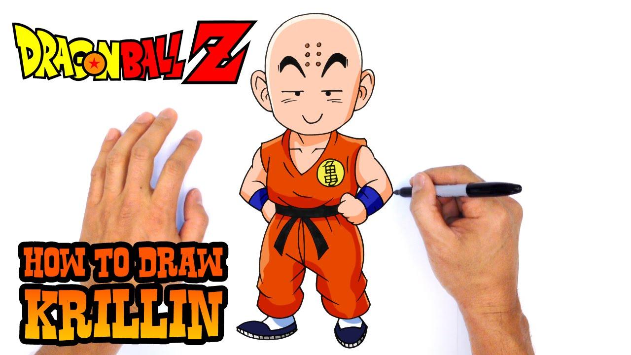 1280x720 How To Draw Krillin Dragon Ball Z