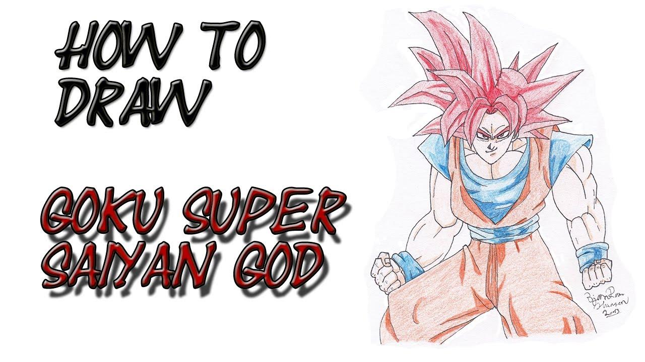 1280x720 Dragon Ball Z How To Draw Goku How To Draw Dragon Ball Z Goku