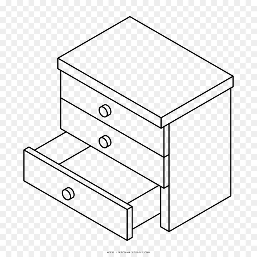 900x900 Coloring Book Drawing Bedside Tables