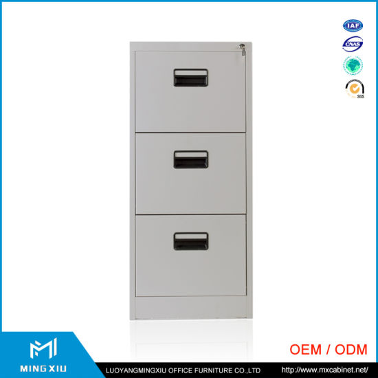550x550 China Supplier 3 Drawer File Cabinet Metal Drawing File Cabinet